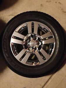 Four 4 Toyota Chrome Clad 18 inch Alloy Wheels Rims Tacoma Tundra 4Runner