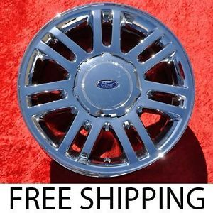 "Exchange Set of 4 New Chrome 18"" Ford F 150 Pick Up Factory Wheels Rims 3784"