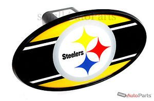 "Pittsburgh Steelers NFL Tow Hitch Cover Car Truck SUV Trailer 2"" Receiver Plug"