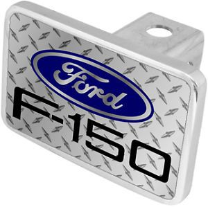 New Ford F 150 Blue Logo Tow Hitch Cover Plug