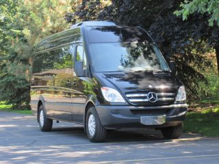 Mercedes Benz Sprinter Limousine Luxury Van 2013 S550 Limo Maybach Seats