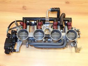 2008 Suzuki GSXR750 GSX R 750 GSXR Throttle Body Assembly Mikuni Motor Engine