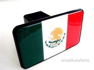 "Mexico Mexican Flag Tow Hitch Cover Car Truck SUV Trailer 2"" Receiver Plug Cap"