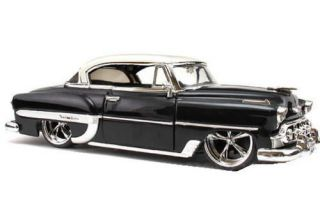 1953 Chevy Bel Air Dub City Old Skool Diecast 1 24 Scale Black