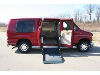 2001 Ford Econoline Wheelchair Accessible Van