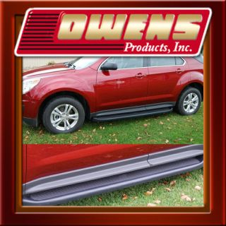 Factory Style Molded Running Board 2010 2012 Chevy Equinox Side Step w Brackets