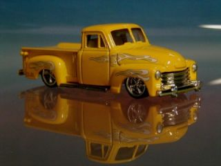 Hot 50s Chevy 3100 Custom Stepside Pickup Truck Le 1 64