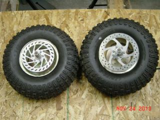 Minibike Mini Bike Wheels and 145 70 6 Tires Front and Rear