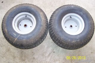 Murray Lawn Tractor Rear Tires Rims Wheels 20x8 00 8NHS Carlisle Turf Saver 2
