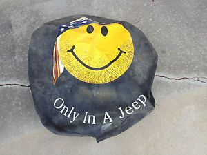 Jeep Wrangler Liberty Spare Tire Cover