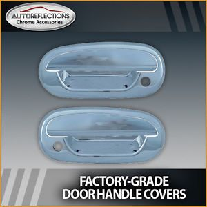 1997 2003 Ford F 150 Chrome Door Handle Covers Heritage 2dr w Pass Keyhole