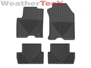 Weathertech® All Weather Floor Mats Ford Focus 2010 2011 Black