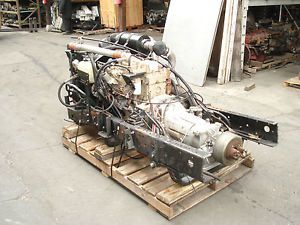 Good Running Cummins 4BT Diesel Engine with Allison Automatic Transmission