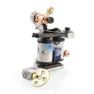 10 Wrap Coils Carbon Steel Tattoo Machine Gun for Kit Set Supply Liner Shader