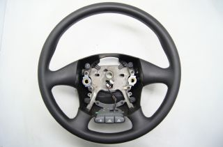 Pontiac Grand Am 1999 2005 Steering Wheel Black Vinyl CC Switches