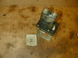 John Deere 112 Electric Lift Riding Lawn Mower Solenoid