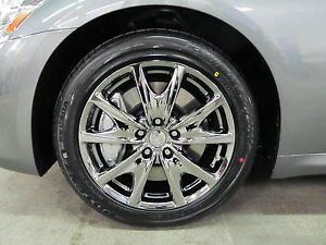 "New 2013 Infiniti G37 18"" Factory Sport Wheels Rims Black Chrome G25 G35 G37"