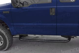 New 3'' Black Side Step Bars 35808 for F150 F250 LD Heritage Super Cab