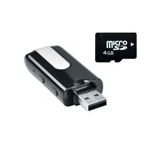 Mini USB Flash Drive Spy Camera Hidden DVR Covert 4GB