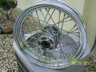 "16"" 40 Spoke Front Chrome Wheel"
