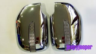 Chrome Mirror Cover LED Toyota Hilux MK4 5 Sportrider R