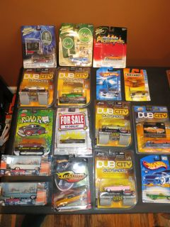 Cadillac Car Toy Lot Dub City Johnny Lightning Hot Wheels Matchbox