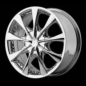 "16"" Helo HE827 5x100 Soltice Legacy Matrix Camry Chrome Wheels Rims Free Lugs"