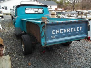 1960 Chevy Truck Bed Sides Front Panel Tailgate Side Steps for Long Bed Stepside