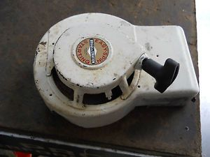 Vintage Briggs Stratton Lawn Mower Engine Recoil Shroud