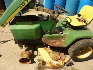 John Deere Mower Tractor for Parts Only