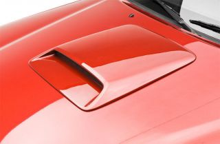 Universal RAM Air Style Painted Hood Scoop by 3DCARBON