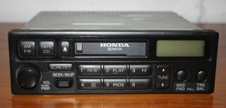 1998 2002 Honda Accord Civic CR V Prelude Insight Radio Stereo 39100 S10 A310 M1