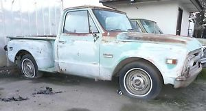 1968 GMC Pick Up Truck Chevy Short Bed C10 PU Complete or Part Out