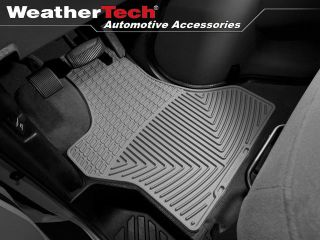 Weathertech® All Weather Floor Mats 1997 2011 Ford Econoline E Series Grey