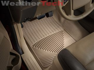 Weathertech® All Weather Floor Mats Ford Expedition 2007 2011 Tan