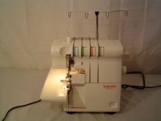Singer Ultralock Serger 14U454B 14 U454B with Foot Pedal Power Cord