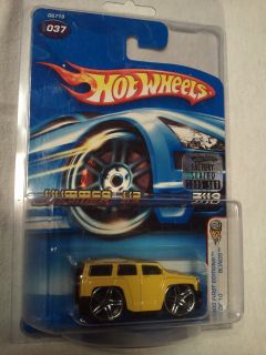 Hot Wheels Hummer H3 Diecast Car