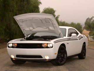 Dodge Challenger RK Sport RAM Air Hood Fully Functional 2008 2014
