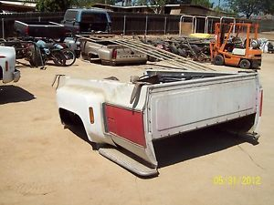 1973 87 Chevy Dually Truck Bed Only Pick One