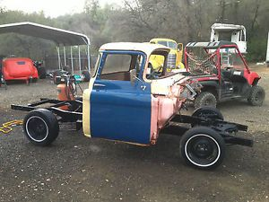 1957 Chevy Custom Cab Short Bed Step Side Truck GMC Extra Cabs Parts