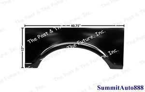 67 68 69 70 71 72 Chevy Pickup Truck Bed Wheel Arch Fleetside LH CPBD6772 8L