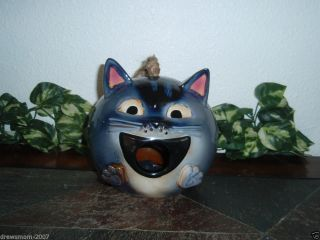 Cat Kitten Birdhouse Bird Feeder Yankee Candle Bird House Cat Face