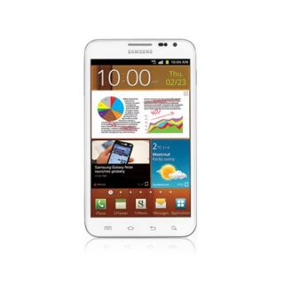Samsung Galaxy Note LTE SGH i717 16GB Ceramic White Unlocked Smartphone Android