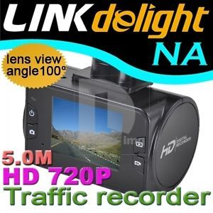 "270° 2 5"" LCD 6 IR LED 720P HD Car DVR Video Camera Camcorder Audio Recorder"