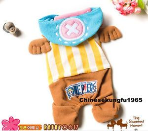 One Piece Tony Chopper Pet Cat Dog Costume New World Era 2 Years Later Clothing