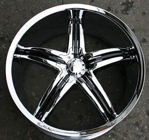 "Viscera 770 22"" Chrome Rims Wheels Jaguar s Type s Type"