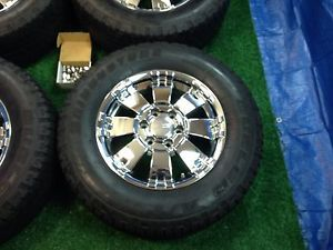 "Hummer H3 Chrome 18"" Factory Wheels and Tires"