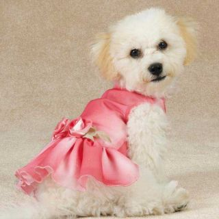 Valentines Day Dog Pet Puppy Pink Spring Princess Dress East Side Collection