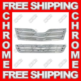 09 12 Toyota Venza Triple Chrome Plated ABS Grille Grill Overlay