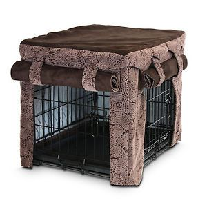 Cabana Pet Cover Luxury Fabrics for Dog Cat Pet Pen Crates Cage in 6 Sizes
